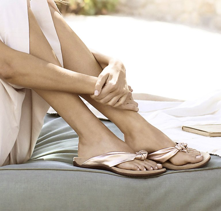 Add style and support with Vionic sandals