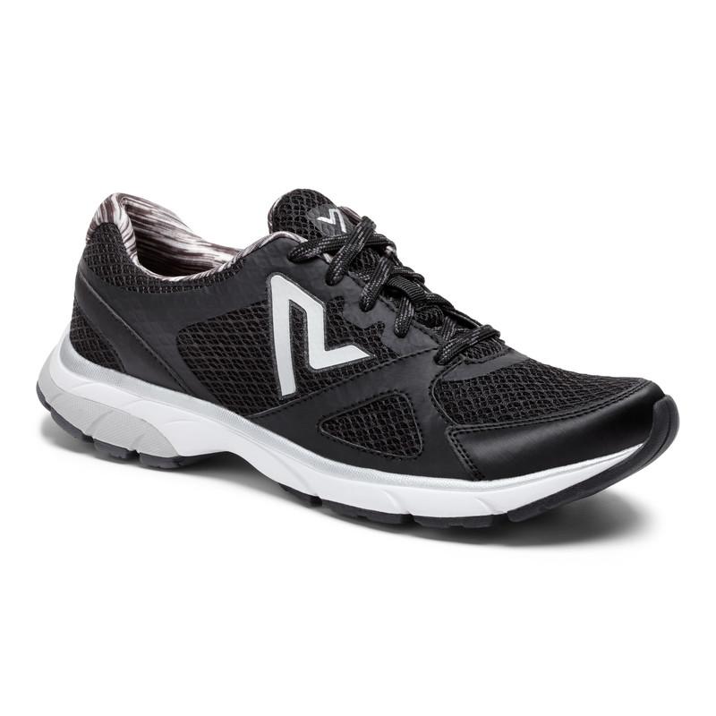 Vionic Sky Storm Chaussette Fit Sneaker Trainer Léger Confort RRP £ 100 noir tendance