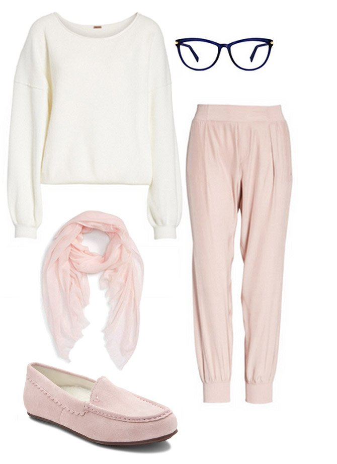 HOW TO WEAR IT: IN THE PINK