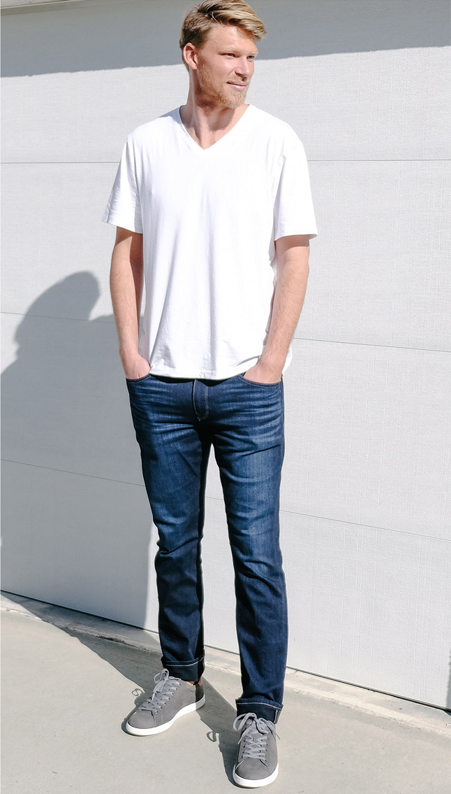 Vionic Baldwin sneaker by Drew Mellon