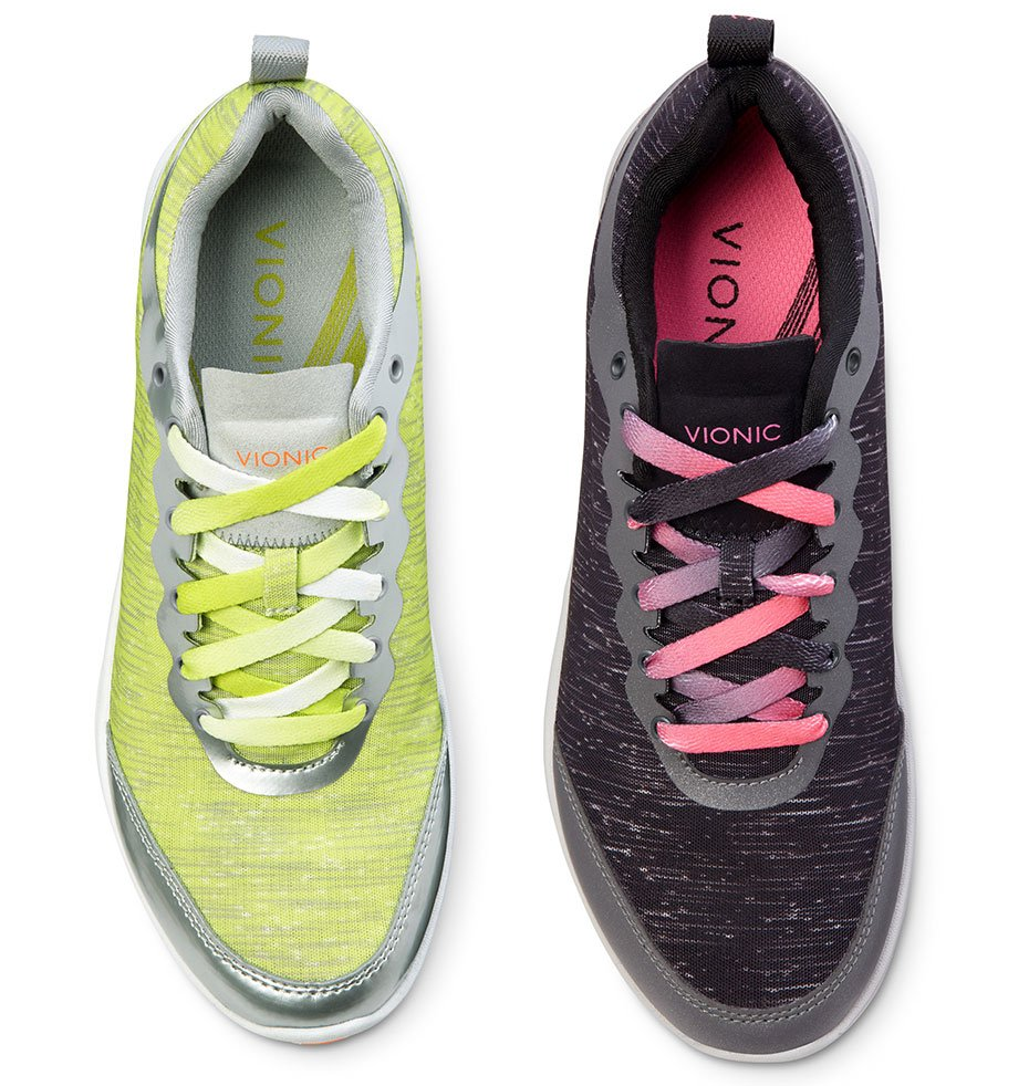 Fyn Active Sneakers in Yellow, Black and More Colors