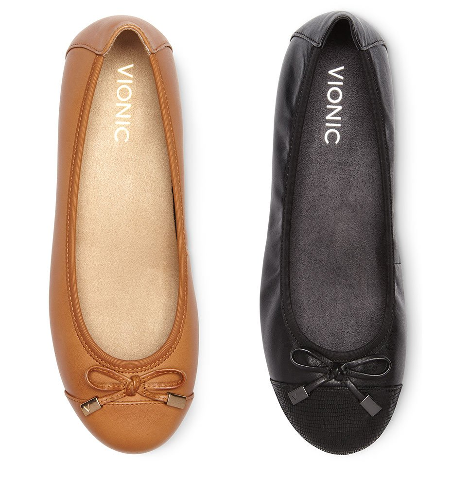 Minna Ballet Flats in Tan, Black and More Colors