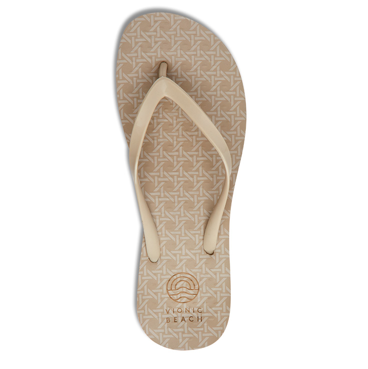 View Cream Woven Coogee Sandal