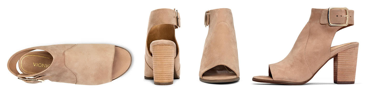 Profile of Blakely bootie sandal