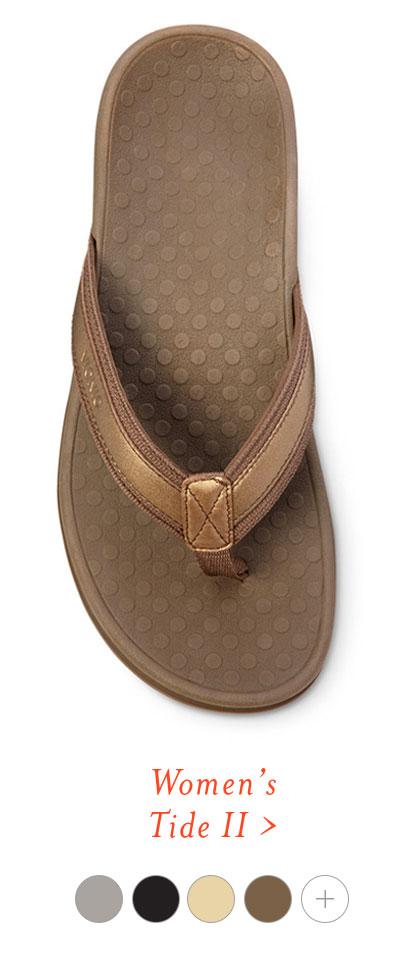 Tide Collection Comfortable Toe Post Sandals Vionic Shoes