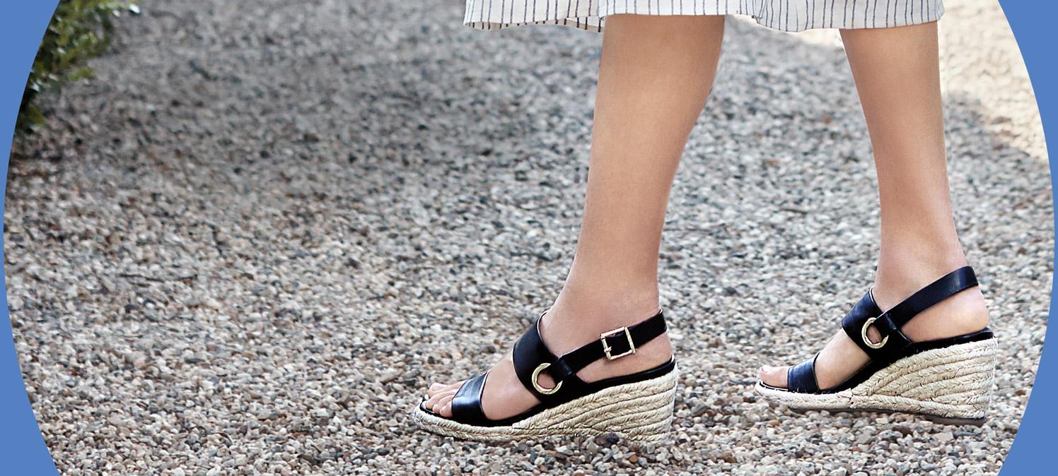 Summer Trend: Espadrilles- Instant refresh of your wardrobe.