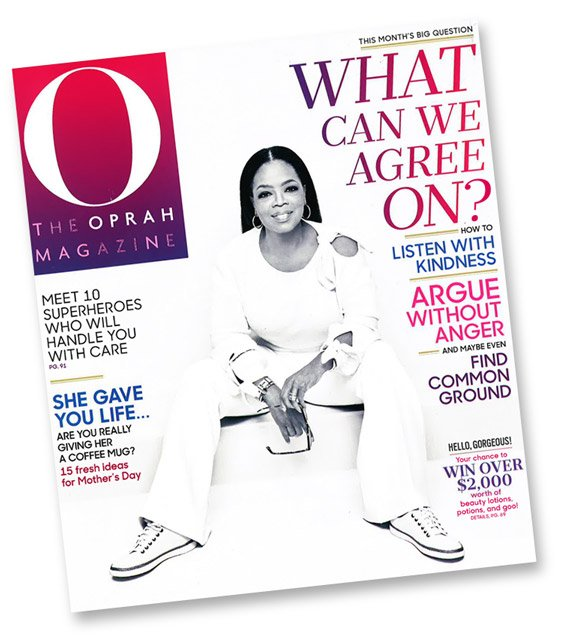 Find Vionic on the cover of O! magazine
