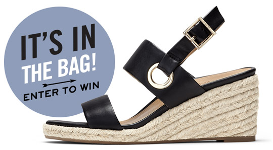 Enter to Win - It's In The Bag