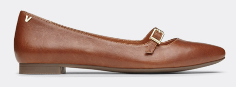 View Delilah Leather Flat