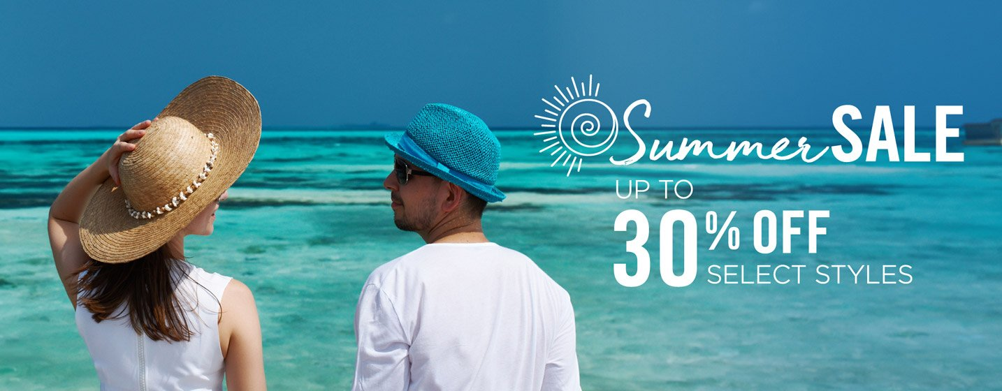 Summer Sale - Save up to 30% off on select styles