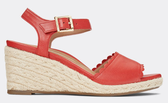 View Stephany Espadrille Wedges