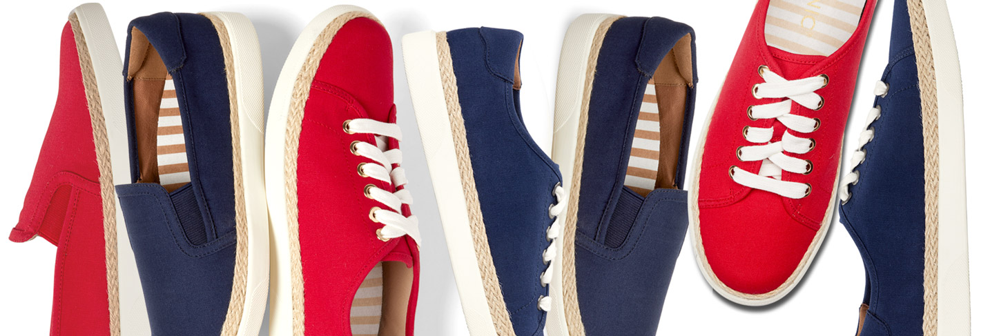 View Vionic Nautical Sneakers