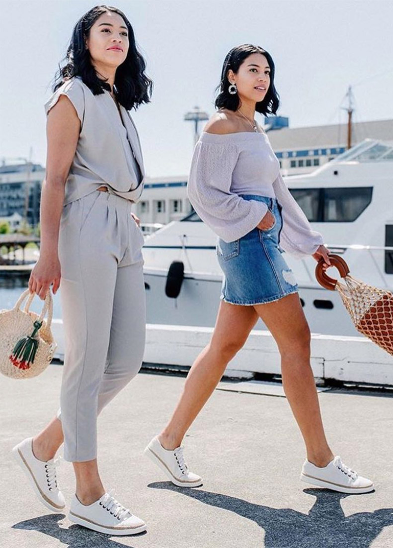 Kat and Kim styles the Hattie Casual Sneaker - Shop Hattie