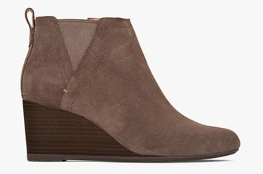Shop Paloma Wedge in Greige