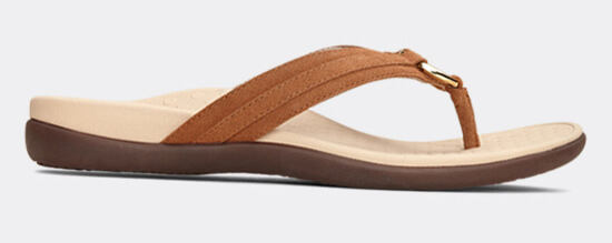 View Aloe Toffee suade sandal