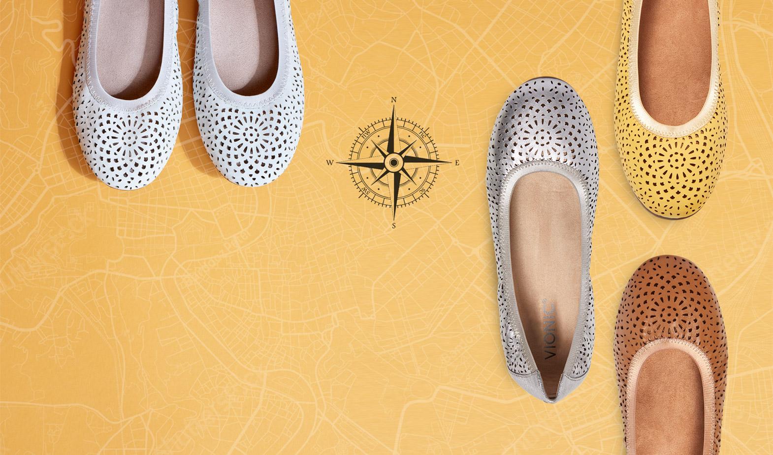 Travel Shoes: Comfortable \u0026 Stylish