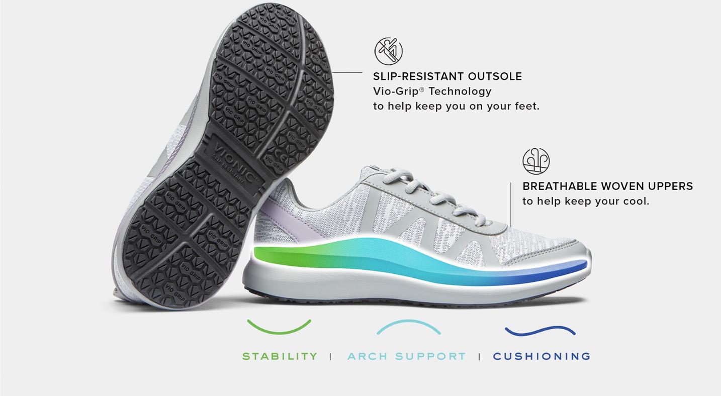 Slip Resistant Work Shoes: Medical
