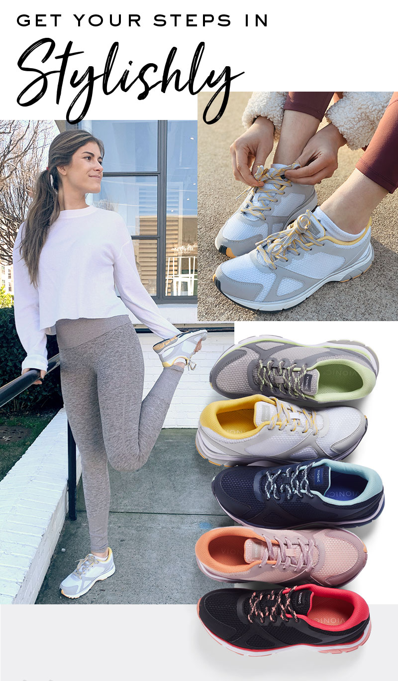 Comfortable Shoes with Arch Support