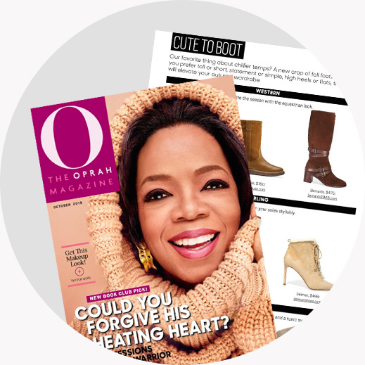 As seen in O Magazine
