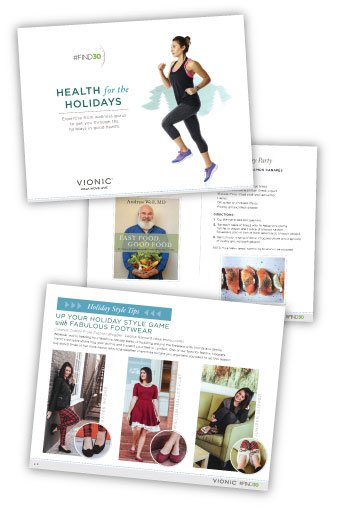 Vionic Holiday Health Guide