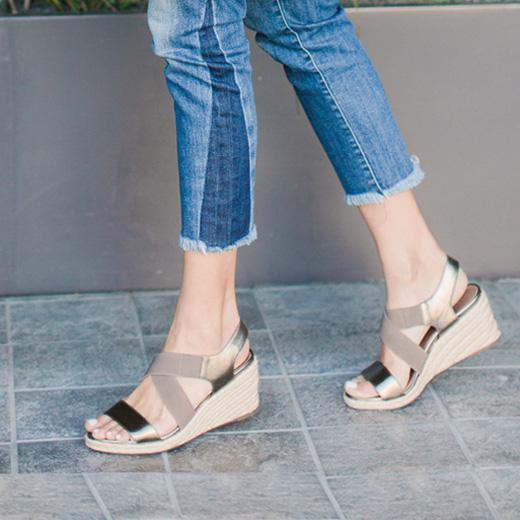 Ainsleigh Wedge Sandal Style
