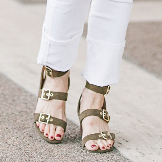Style with the Carmel Heeled Sandal