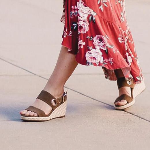 Vero Wedge Sandal   Vionic Shoes