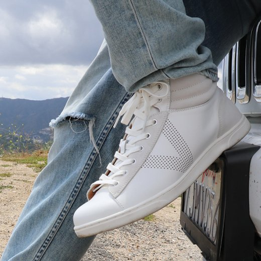 Check out how Brennan styles our Malcom High Top with his favorite wardrobe staples.