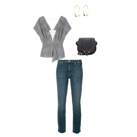 One of the many ways to build your outfit with our Paloma Wedge Boot.