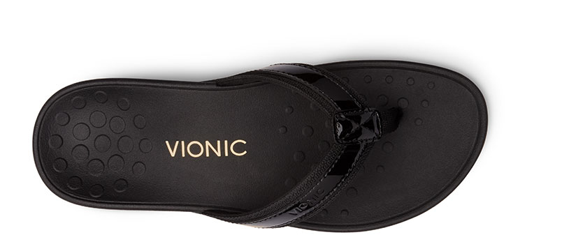High Tide Sandal in Black