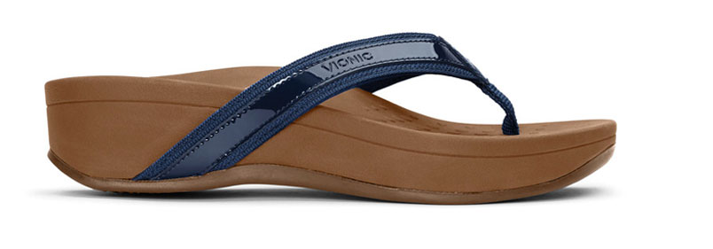 High Tide Sandal in Navy