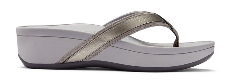 High Tide Sandal in Pewter