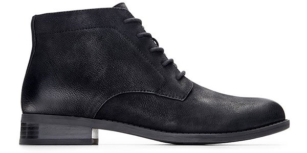 Mira Lace-Up Boot in Black