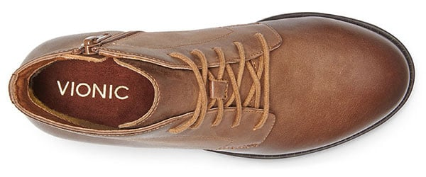 Mira Lace-Up Boot in Tan