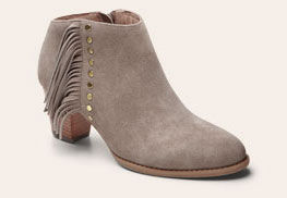 Faros Fringed Bootie
