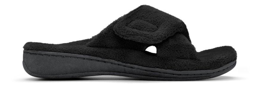 Relax Slipper in Black