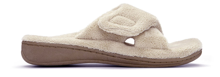 Relax Slipper in Tan