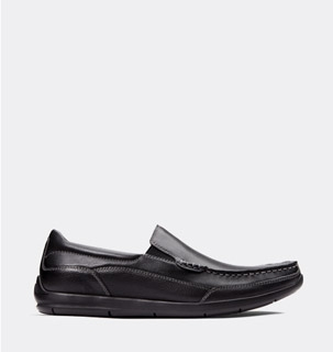 View Vionic Shoes - Men's Black Casual Shoes